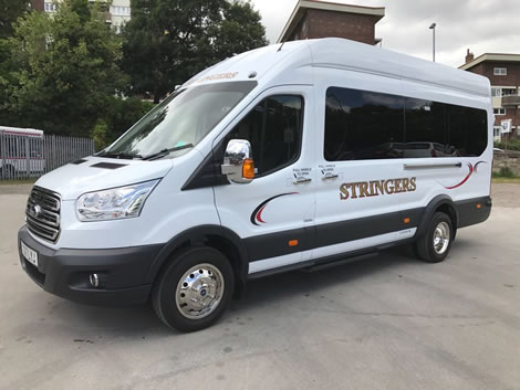 Our 16 seater coach.