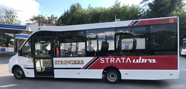 Latest addition to Stringers bus fleet.